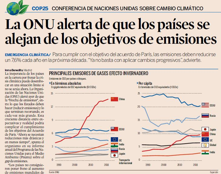 Ex La ONu alerta