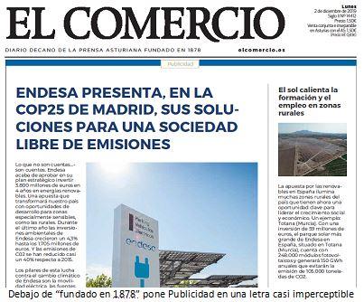 Recorte El Comercio