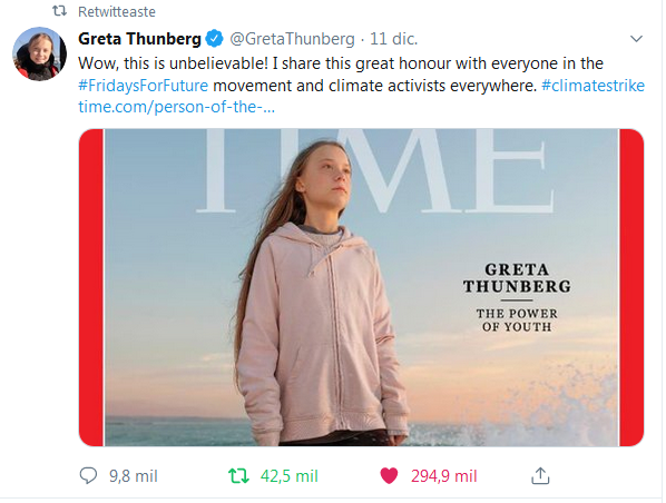 Tuit Greta Times
